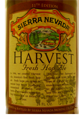 Sierra Nevada Harvest Fresh Hop Ale