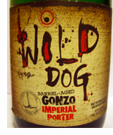 Flying Dog Brewery Wild Dog Gonzo Imperial Porter beer label