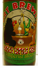 Port Brewing Santa's Little Helper bottle label