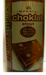 Southern Tier Imperial Choklat Stout bottle label