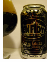Oskar Blues Ten Fidy can