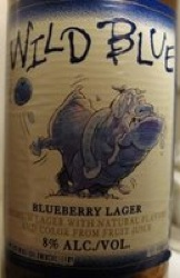 Blue Dawg Wild Blue Blueberry Lager