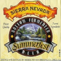 Sierra Nevada Summerfest Lager