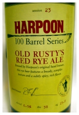 Harpoon 100 Barrel Series: Old Rusty's Red Rye Ale