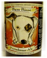 Jolly Pumpkin Bam Biere Label