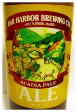 Bar Harbor Brewing Acadia Pale Ale