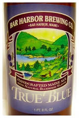 Bar Harbor Brewing True Blue