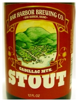 Bar Harbor Brewing Cadillac Mtn. Stout