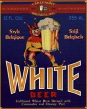 Lakefront White Beer