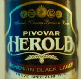 Herold Bohemian Black Lager