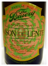 The Bruery Saison De Lente