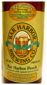 Bar Harbor Brewing Company Peach Ale